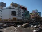 仙台駅からLOFT方面を眺める
